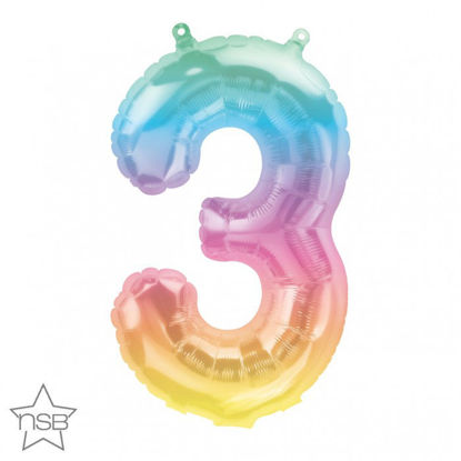 """Picture of 16"""" Number 3 Jelli Ombre (air-filled)"""