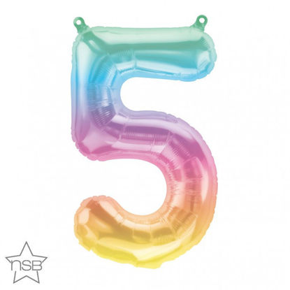 """Picture of 16"""" Number 5 Jelli Ombre (air-filled)"""