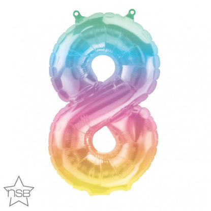 """Picture of 16"""" Number 8 Jelli Ombre (air-filled)"""
