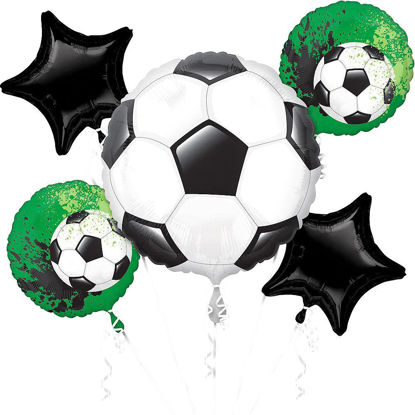 Picture of Goal Getter - Foil Balloon Bouquet (5 pc)