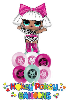 Picture of Balloon Bouquet - LOL Doll Surprise Diva (9pc)