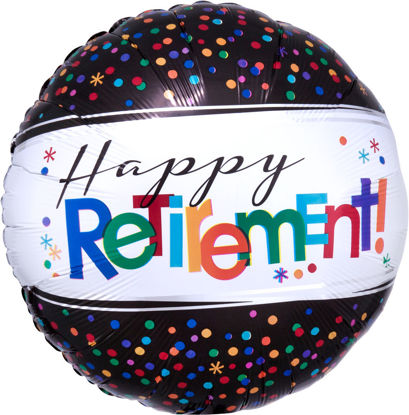 """Picture of 18"""" Officially Retired Foil Balloon  (helium-filled)"""